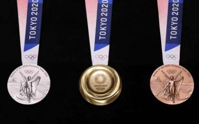Recycled Electronics Make Tokyo Olympics Medals