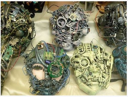 masks from electronics